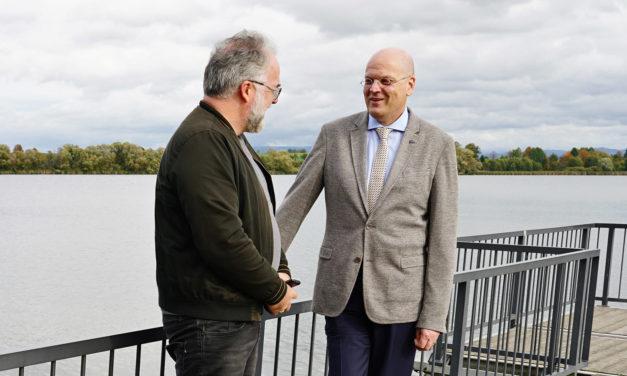 Unterwegs mit:  Prof. Dr. med. Wolfgang Brück