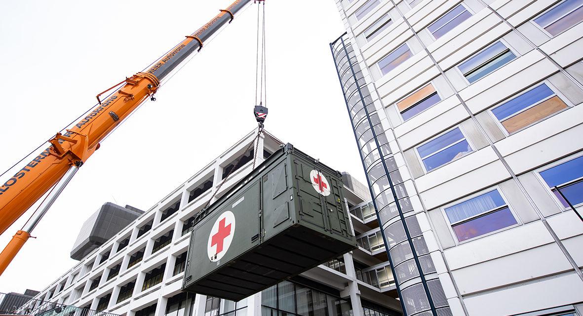 Bundeswehr hilft UMG